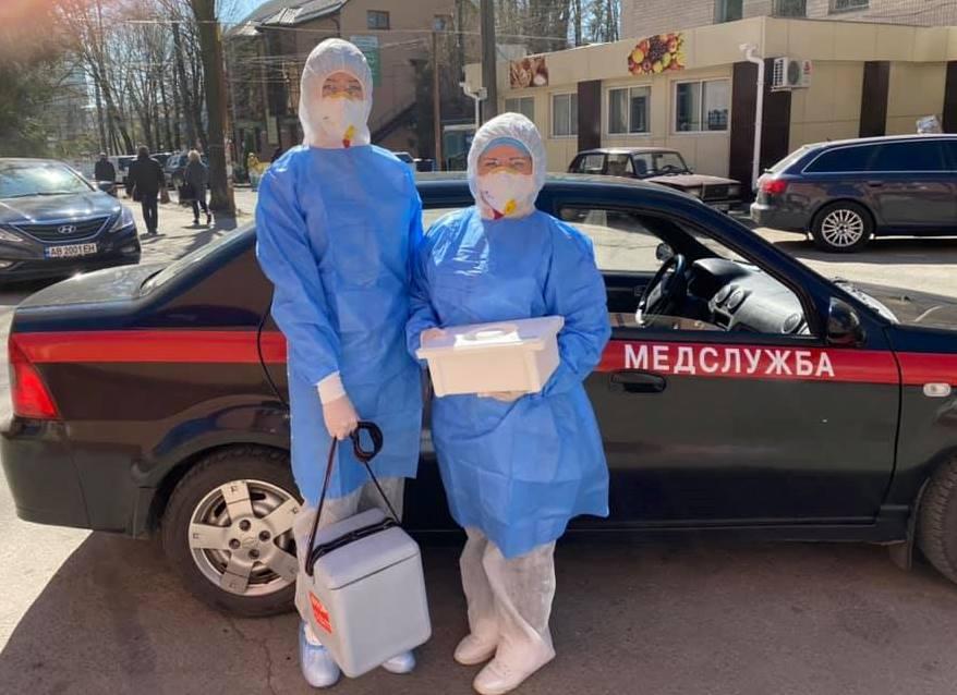 Мобільні бригади готові тестувати на COVID-19 — Вінницька районна державна адміністрація